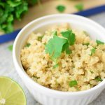 How to Make Quinoa in the Rice Cooker - A simple explanation of how to make the EASIEST quinoa ever, in your rice cooker! - ProjectMealPlan.com